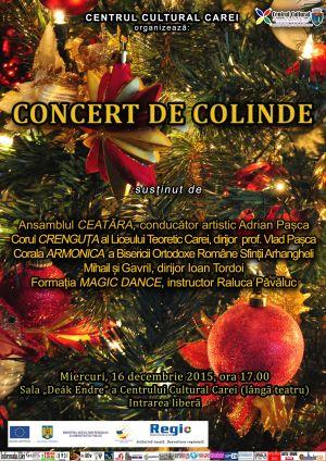 Concert de Colinde la Centrul Cultural Carei