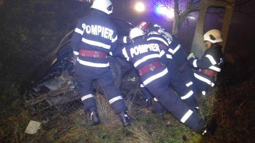 Accident la ieşirea din Ciuperceni