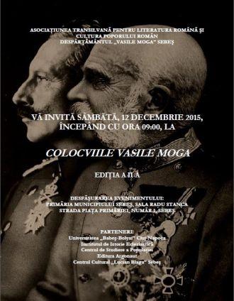 Colocviile Vasile Moga, ediţia a II-a