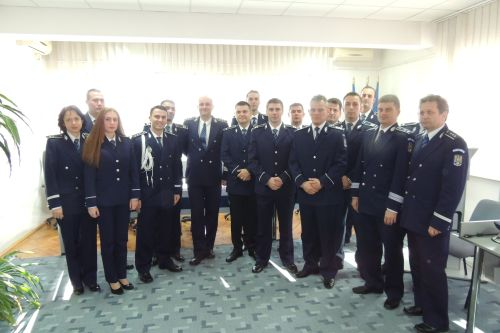 Avansări în grad la Inspectoratul de Poliţie Judeţean Satu Mare