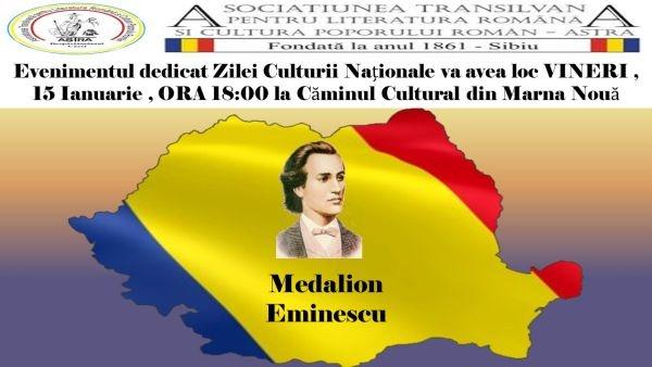 Medalion Eminescu în mediul rural