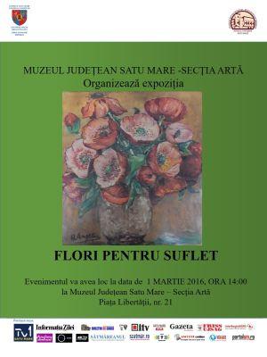 """""""Flori pentru suflet"""" la Muzeul de Artă"""