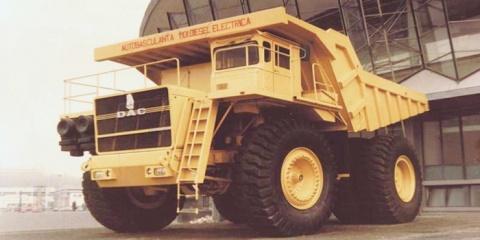 """Supercamionul românesc """"DAC 120 DE"""""""