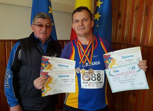 Aur pentru Nicolae Jurj la Campionatul Naţional de Veterani