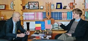 Atașatul politic al ambasadei SUA în vizită la Satu Mare