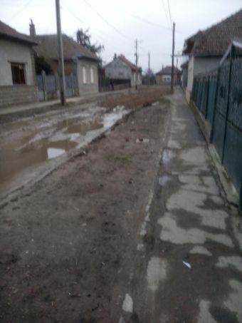 Reţeta  de pietruire folosită în municipiul Carei