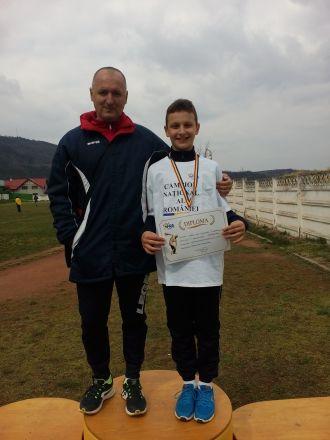 Aur pentru careianul Vlad Turcu la Campionatul Naţional  de Aruncări lungi