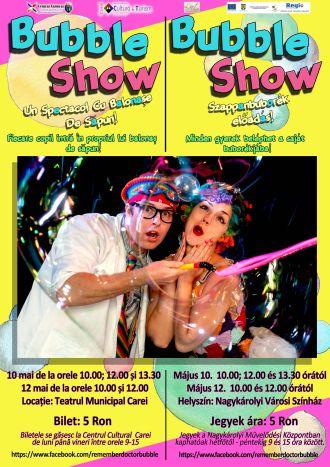 Spectacol cu balonașe de săpun pentru copii mici si mari