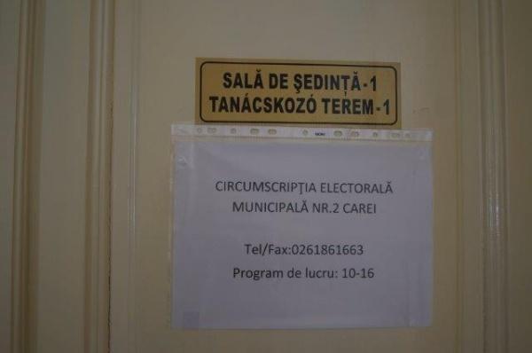 Update:4 candidaţi pentru primărie cu o oră înainte de închiderea Circumscripţiei electorale