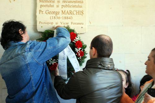 180 de ani de la naşterea preotului şi poetului George Marchiş