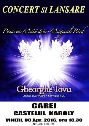 Concert si lansare de album Gheorghe Iovu