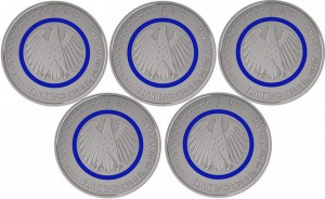 Noua monedă de 5 euro
