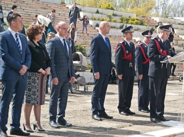 S-a predat ștafeta conducerii ISU Satu Mare