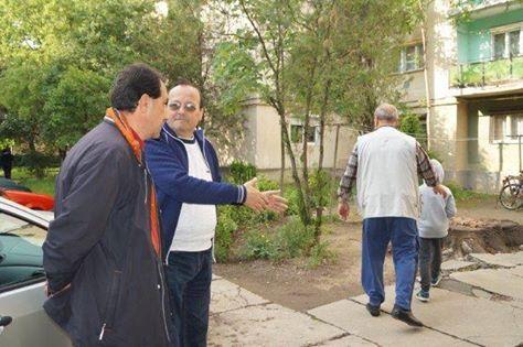 Ilie Ciută face ordine în cartierul Republicii şi încă e doar candidat de primar….
