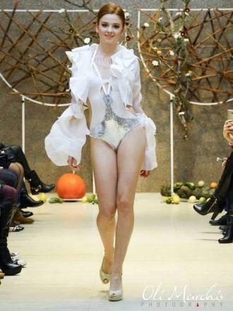 Fashion Night la Castel. Rochii de seară, creaţii extravagante şi lenjerii….