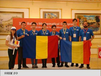 Șase medalii pentru olimpicii români la Balcaniada de Matematică pentru seniori