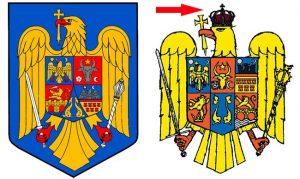 Se modifică stema României
