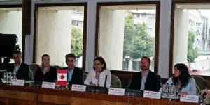 Delegație din Canada la Prefectură