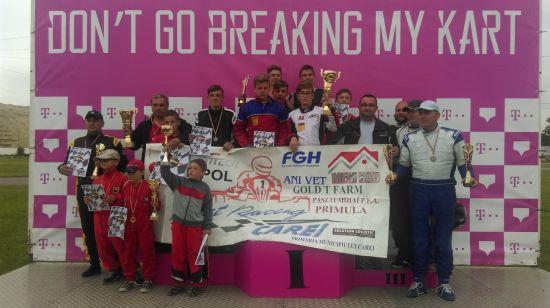 Karting: locul 2 pentru careieni