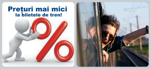 CFR Călători anunţă ieftinirea biletelor