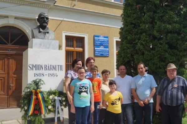 Simion  Bărnuțiu, aniversat la Carei la 208 ani de la naștere