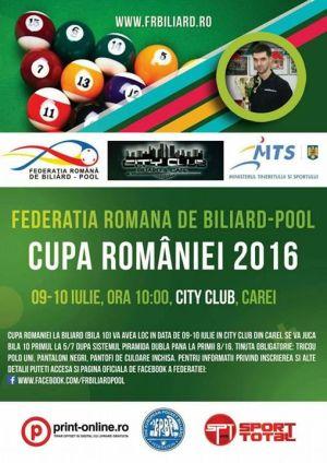 Premieră în Carei! Cupa României la Biliard