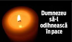 Condoleanţe CONSILIUL DE SUPRAVEGHERE AL SC  ARDEALUL SA Carei