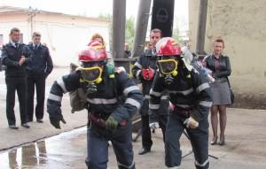 """Locul I pentru Sătmărence la concursul """"Prietenii Pompierilor"""""""