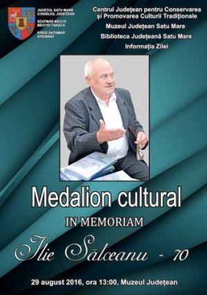 Medalion Cultural Ilie Sălceanu