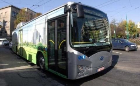 Proiect comun româno-maghiar pentru autobuz electric