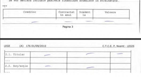 A dispărut pagina 4 din Declaraţia de avere a primarului UAT Carei. Găsitorului…mulţumiri