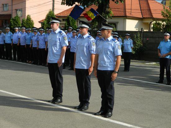 Jandarmi repartizaţi în judeţ