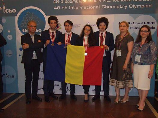 România are cei mai buni elevi la Chimie