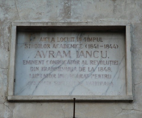 Domnule primar Kovacs, Avram Iancu NU a studiat la Budapesta