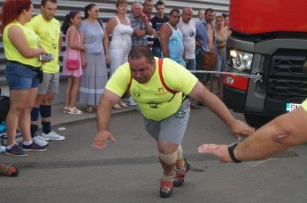 Cel mai puternic Bărbat la Augustfest 2016 Carei