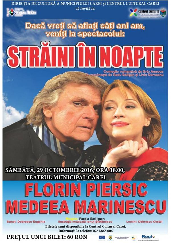 Florin Piersic ajunge şi la Carei