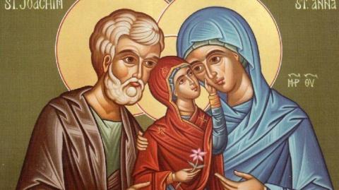 Sfinţii Ioachim si Ana, părinţii Maicii Domnului