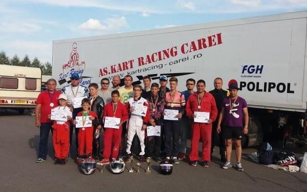 Karting: locul III pentru careieni