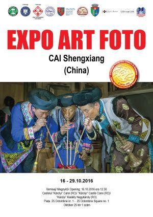 Artă fotografică chineză la Carei