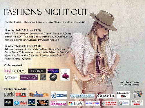 Invitație la Fashion's Night Out