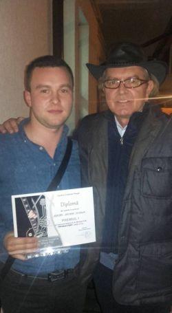"""George Negrea a obținut marele premiu la Festivalul de Folk """" TRIVALE"""" cu piesa ,,Țara din noi,,"""