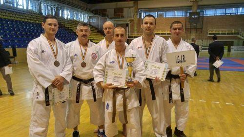 Jandarm sătmărean- dublu vicecampion la karate-kumite