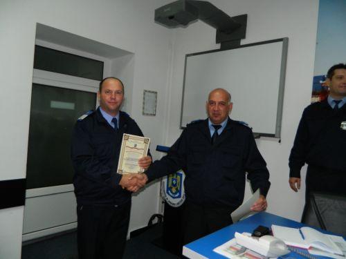 IT-iştii jandarmi din Satu Mare felicitaţi de IGJR