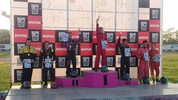 Karting: locul 3 pentru careieni