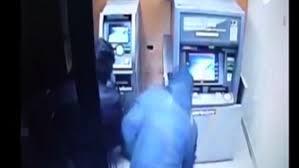 Tentativă de furt de la bancomat după scenariul de la casa de schimb valutar