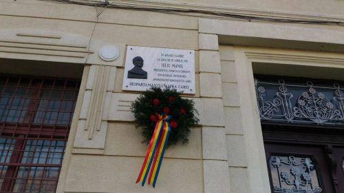 Iuliu Maniu comemorat la Carei
