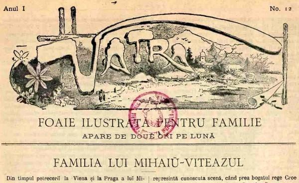 Revista VATRA la 123 de ani de la apariţie