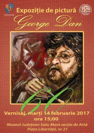 George Dan – 60. Expozitie de  pictură