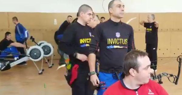 Sportivii Invictus Team se pregătesc pentru Jocurile Toronto 2017
