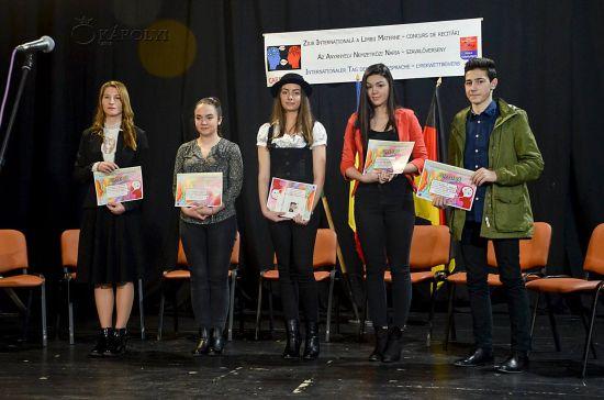 Liceul Teoretic culege peste jumătate din premiile concursului de recitări